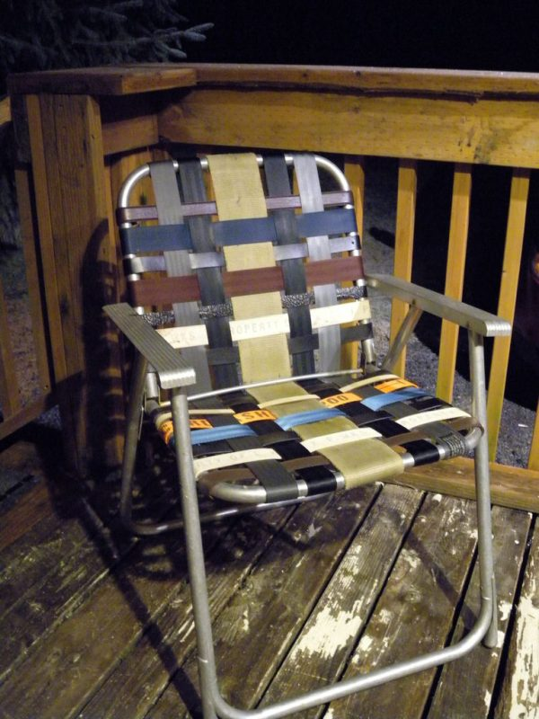 Chair With Belts