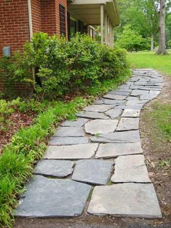 A Slate Walkway